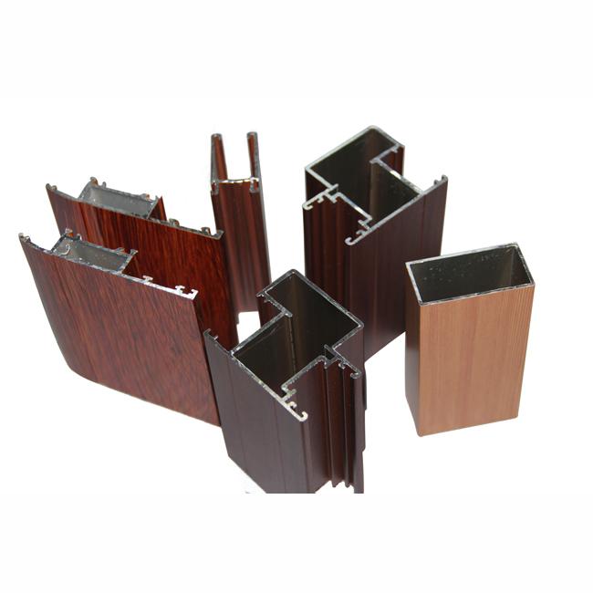 河南 兴发铝材厂家直销木纹铝合金门窗型材808372165