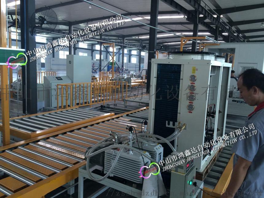 佛山空气能热泵生产线,珠海热泵装配线,热泵检测线836299175