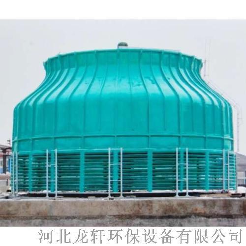 圓形逆流玻璃鋼冷卻塔  耐腐蝕抗氧化圓形冷卻塔821343272