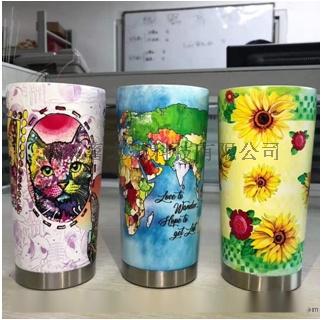 圆柱体打印机 化妆品瓶彩印机 保温杯水杯uv印刷机105640862