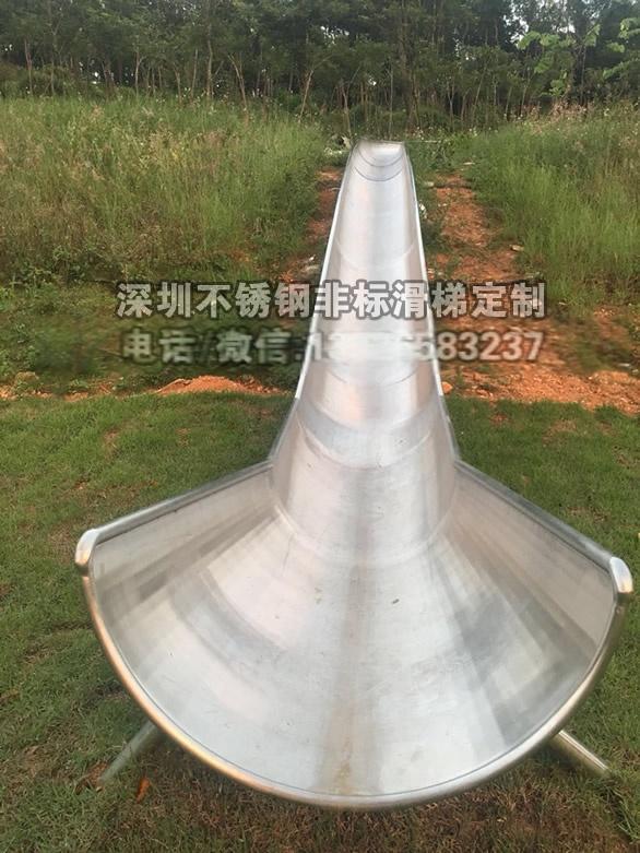 深圳公園直板不鏽鋼滑梯非標定製包安裝827108892
