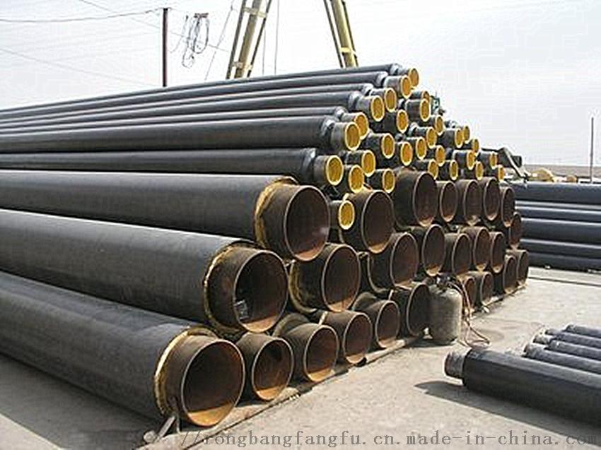 预制直埋聚氨酯保温管,直埋塑套钢保温管798957782
