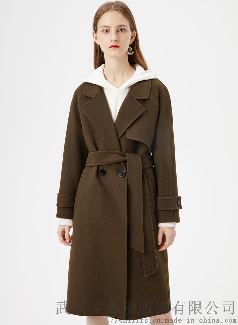 艾沸女装在哪里拿货夏柏20年冬装新款女式风衣外套830269512
