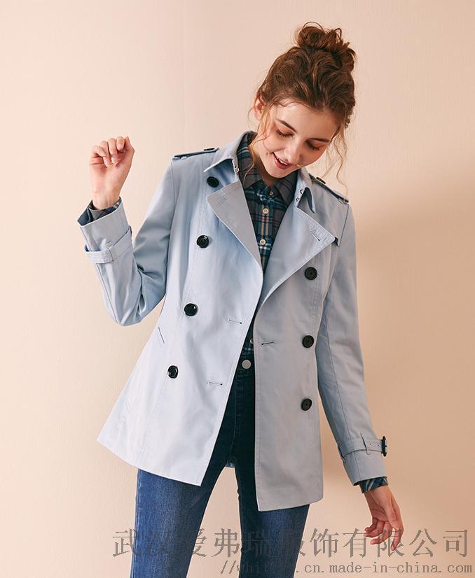 艾沸女装在哪里拿货夏柏20年冬装新款女式风衣外套830269532