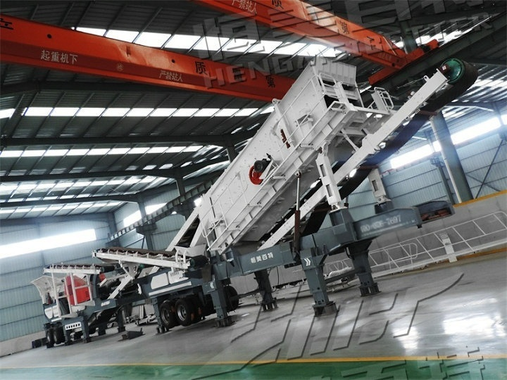 时产100吨建筑垃圾破碎站一套 移动反击式破碎站一台多少钱830903202