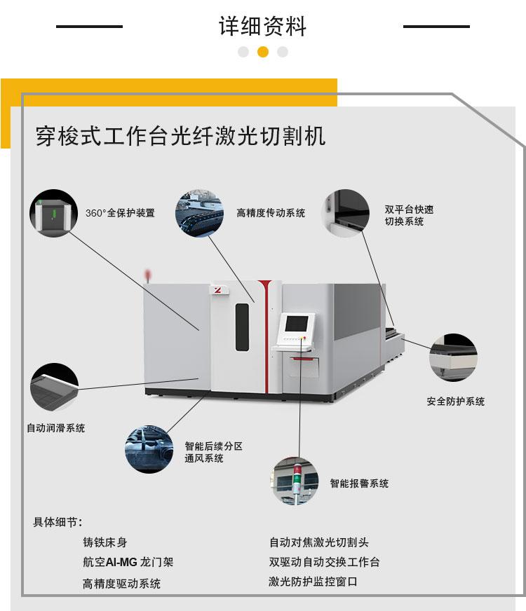 大包圍鐳射切割機 4020交換平臺鐳射切割機109409742