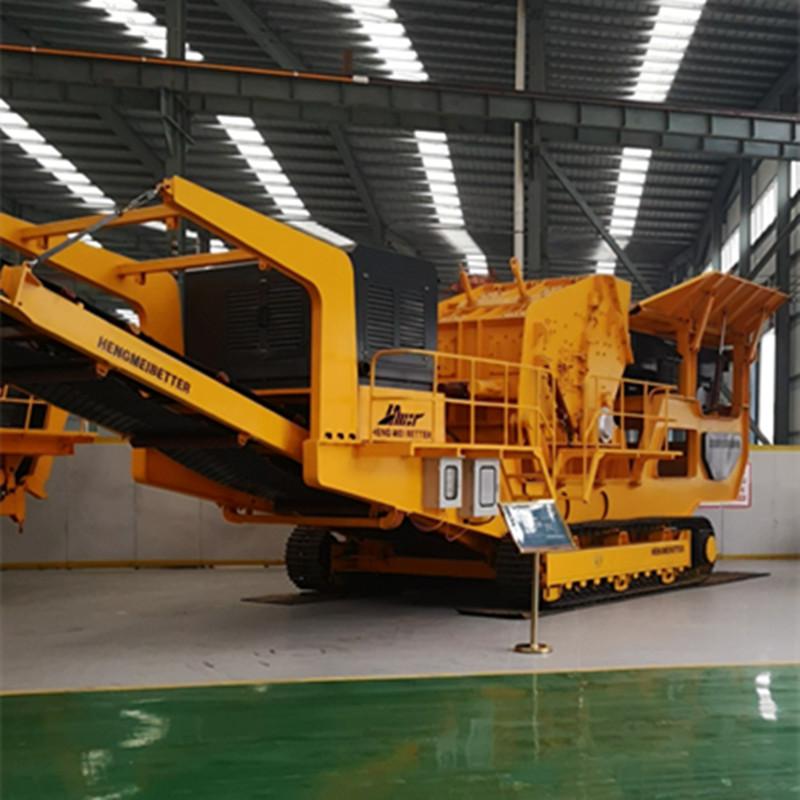 移动石子破碎机 移动碎石设备 大型碎石机厂家直销109422582