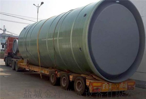 玻璃鋼一體化污水泵站111008305