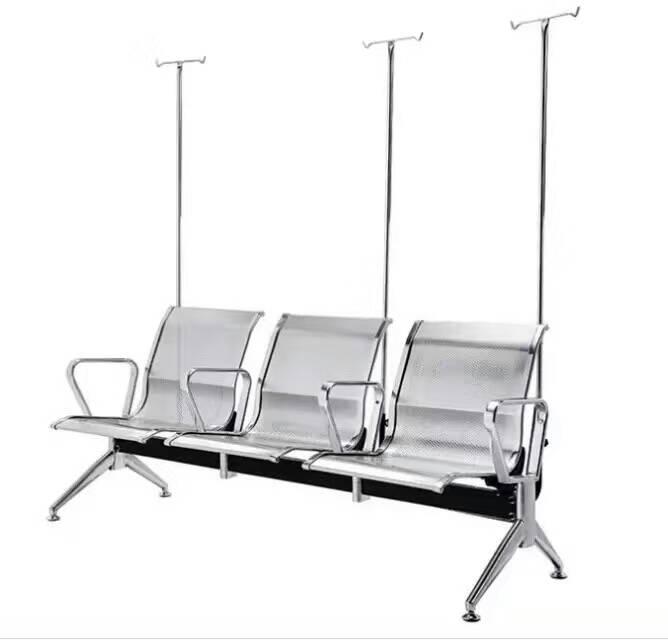 单人不锈钢输液椅价格、可躺可调节输液椅、不锈钢三人位输液椅、34130255
