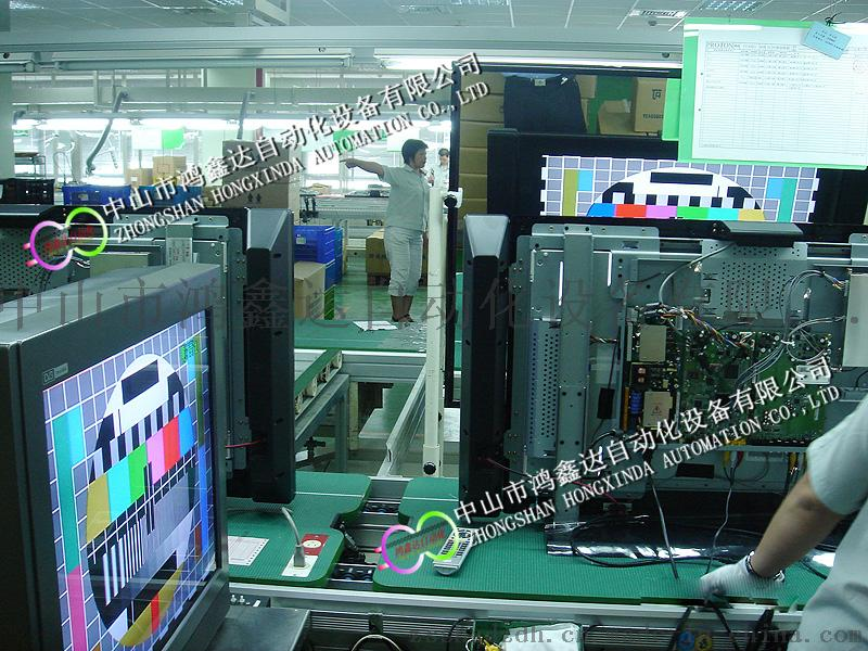 顯示屏生產線,液晶面板自動裝配線,LCD檢測流水線56736725