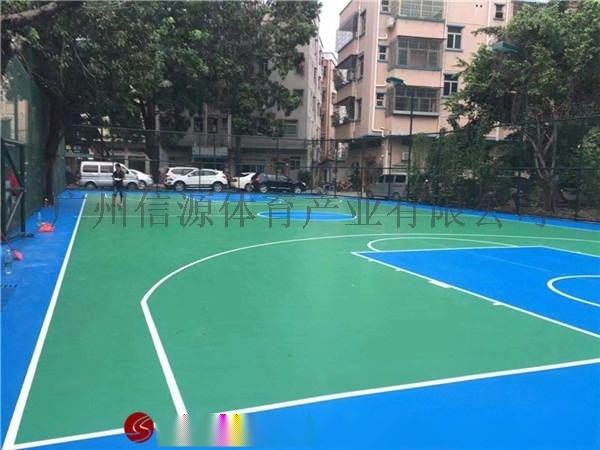 海南海口篮球场地面施工及球场材料厂家112574355