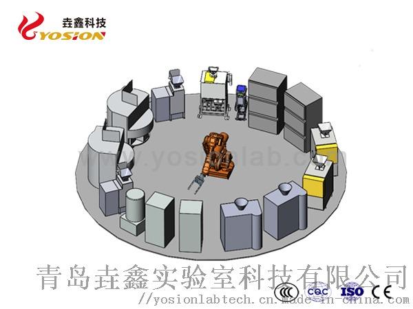 环形机械手制样系统装配2-青岛垚鑫科技www.yosionlab.com.jpg