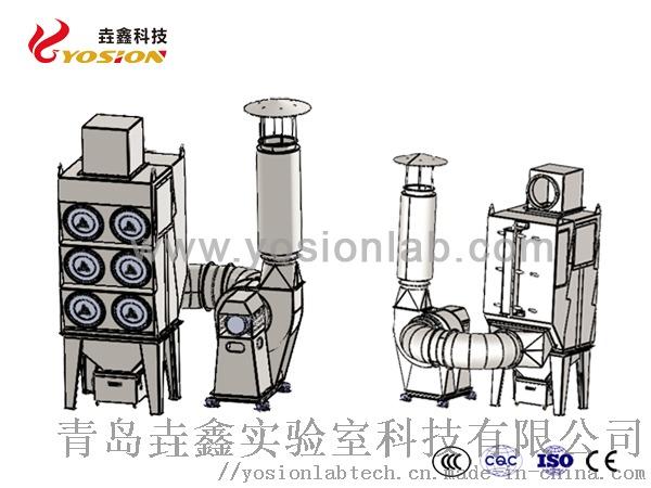 室外脉冲除尘器2-青岛垚鑫科技www.yosionlab.com.jpg