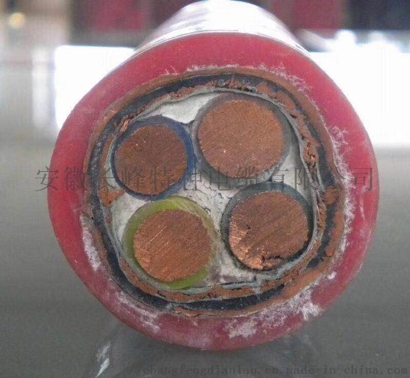 安徽长峰电缆GG/3*50+1*25硅橡胶电力电缆852404125
