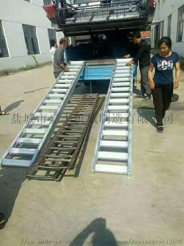 叉车铝爬梯4米/6米4吨6吨8吨10吨115126145