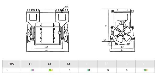 无油活塞式真空泵 微型无油真空泵 小型静音真空泵115128435