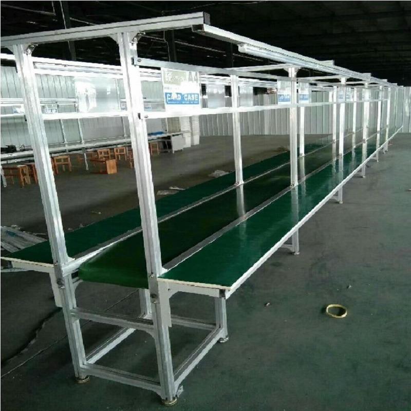 厂家直销绿色防静电皮带线 输送机流水线 高效流畅839178552