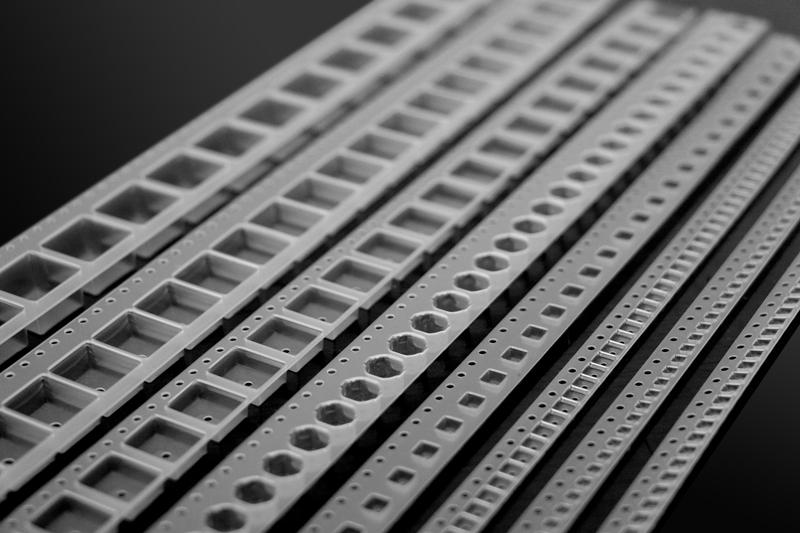 8mmSMD元器件塑胶载带 佛山高透黑色塑胶载带116310315