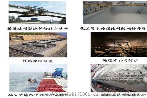 化工厂混凝土抗酸碱盐腐蚀防护修补料95722152