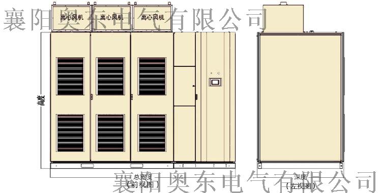 SVG10KV无功补偿装置柜体结构图.png