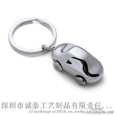 動漫卡通琺琅鑰匙扣, Q版兔子金屬禮品鎖匙扣117690065