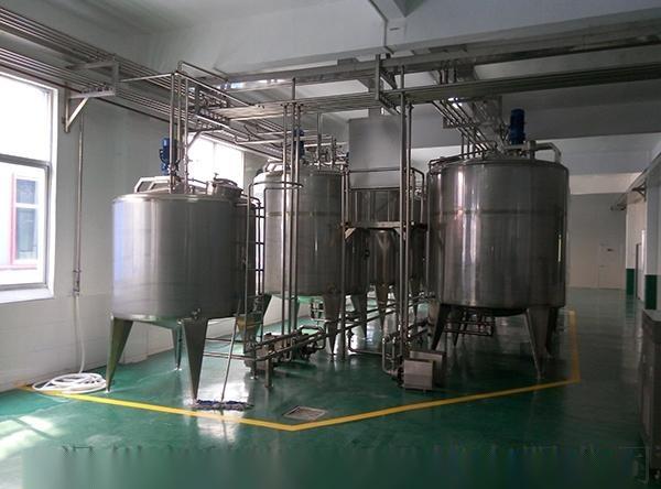 西平廠乳酸菌飲料成套生產設備 加工乳酸菌飲料的設備90419012