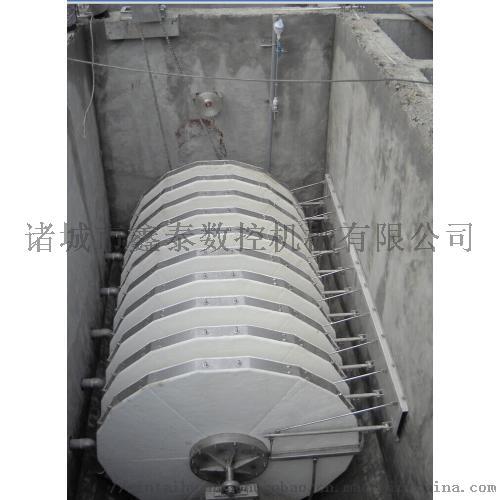 鑫泰环保转盘式微过滤器制造工艺流程846250552