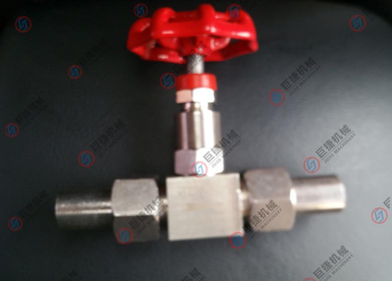 j23w-160P外螺纹针型截止阀2