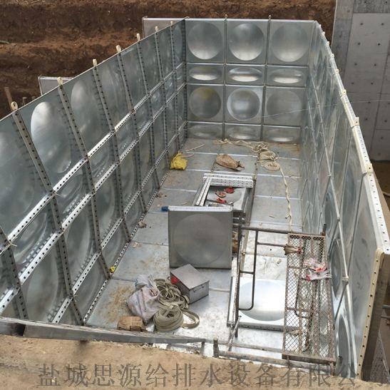 装配式抗浮式地埋消防箱泵一体化的开挖顺序和坡度855683195