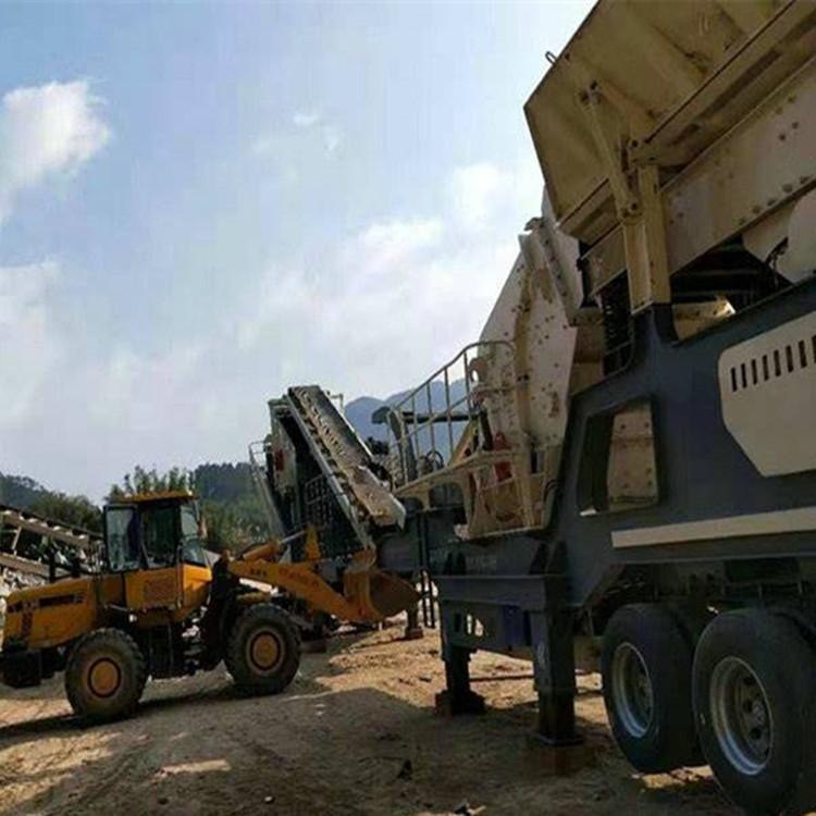 移动山石破碎机价格 建筑垃圾碎石机厂家833942712