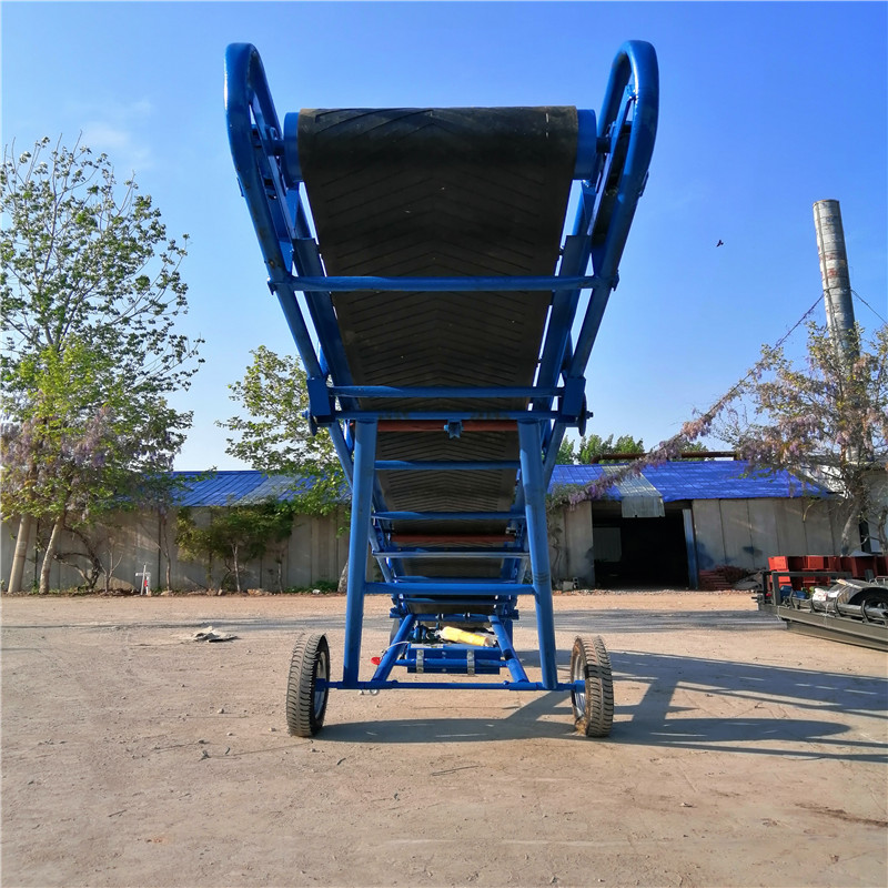 抚顺玉米芯装车输送机 定制1米宽带式输送机Lj8117738052