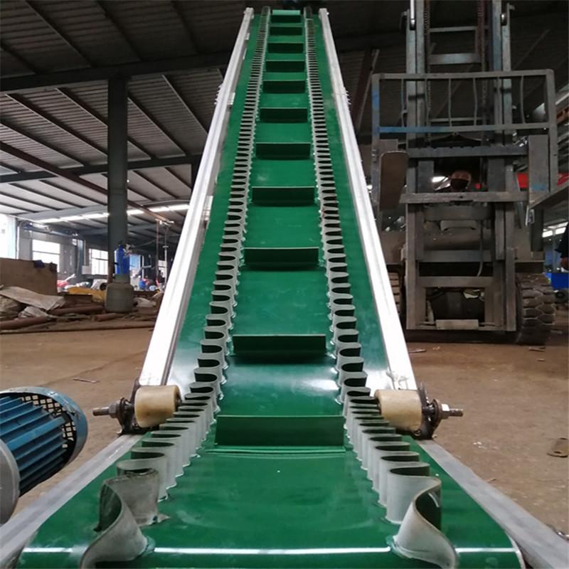临汾大蒜装车卸车皮带机 倾斜输送机生产Lj8117736172