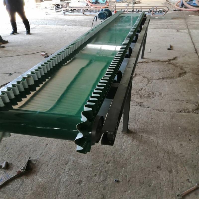 临汾大蒜装车卸车皮带机 倾斜输送机生产Lj8117736302
