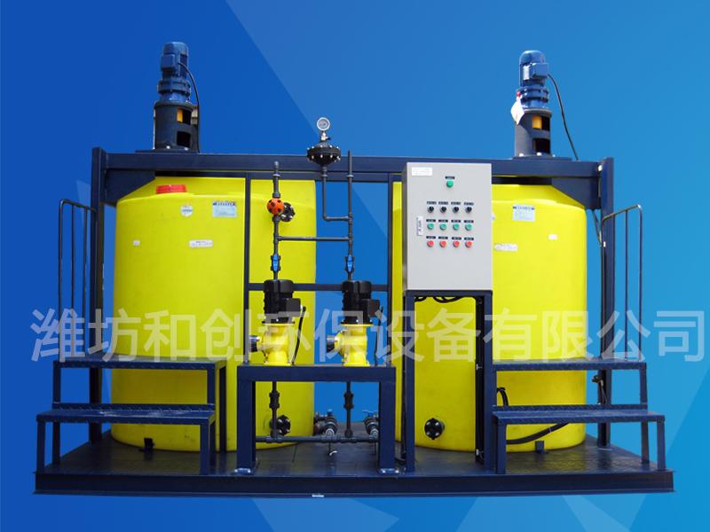 單過硫酸氫鉀投加裝置