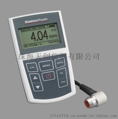 德國EPK MiniTest 430超聲波測厚儀870319265