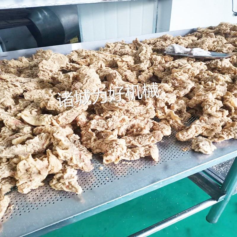 小酥肉速冻食品连续油炸机厂家直销123090792