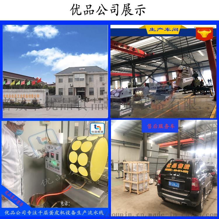 鸡蛋皮机生产设备 蛋饺皮机 全自动蛋皮机123186582