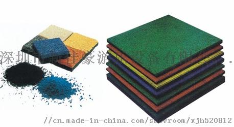 深圳彩色安全地垫,户外现浇EDPM橡胶安全地垫厂家123502455