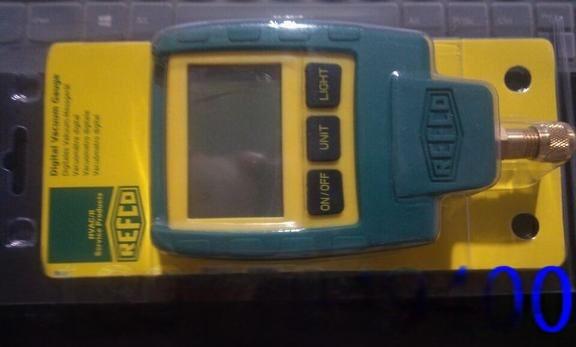 REFCO真空计REF-VAC,VG-64,19800-SV威科电子真空计876805645