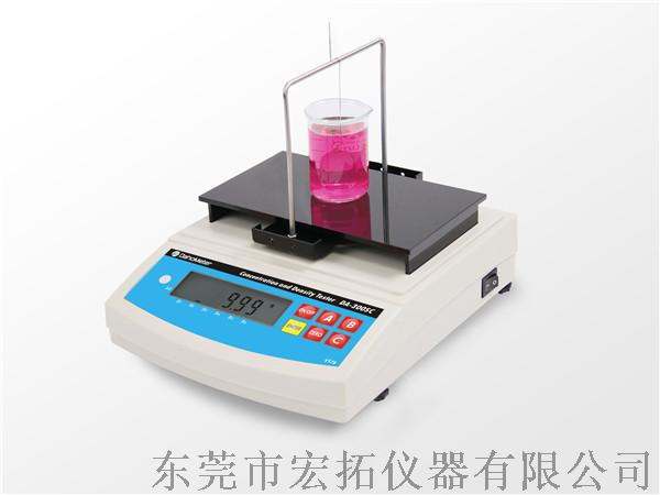 液體比重計 液體比重測試儀872330055