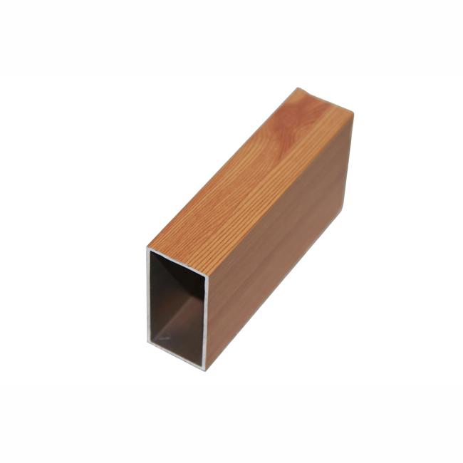 木纹铝方通吊顶原材料厂家兴发铝业838050015