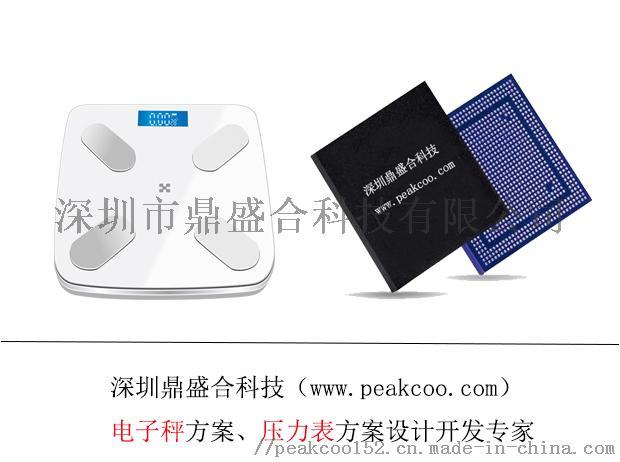 智能秤方案芯片设计,鼎盛合科技pcba整体方案开发875901115