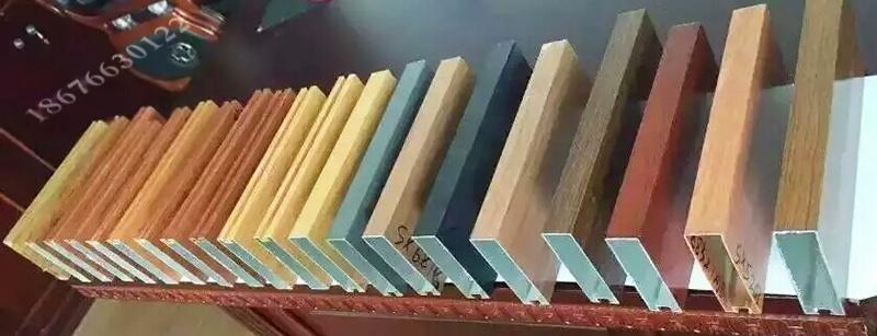 專業生產氟碳噴塗烤漆木紋門頭鋁方通72263525