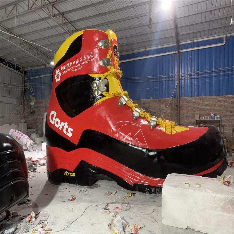 广州出  易会玻璃钢雕塑定制运动鞋造型雕塑129030265