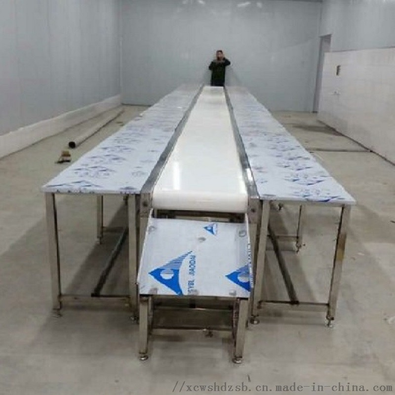 定制食品厂白色皮带输送线、小型平面流水线、按需定制800036182