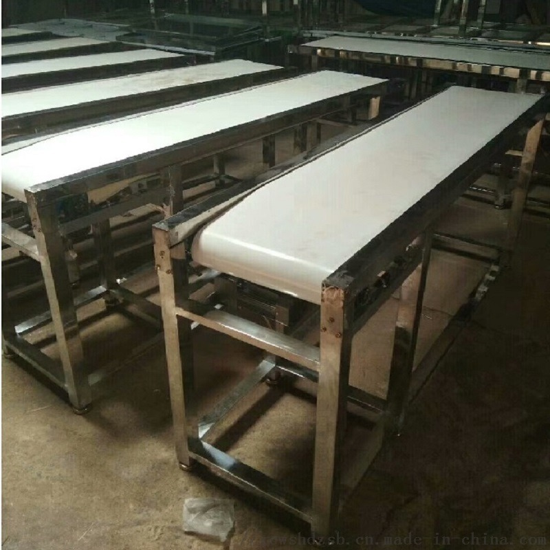 定制食品厂白色皮带输送线、小型平面流水线、按需定制800036202