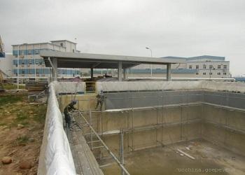 阜陽自來水廠新建水池斷裂縫漏水堵漏怎麼處理878668645