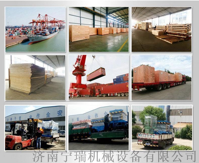 仓储物流集装箱卸货平台 电动液压叉车搭桥131259482