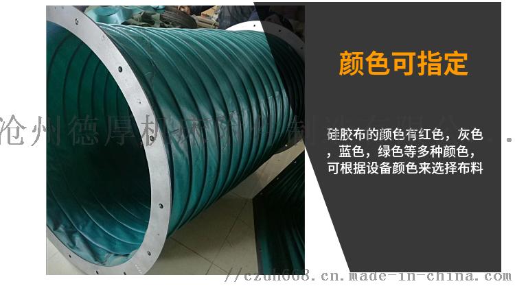 涂布机 印刷机 复合机专用防震软接头伸缩式风筒127183742