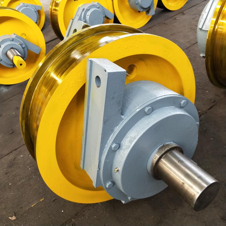 700×210双边主动行车轮双梁锻造行车轮组**131961082